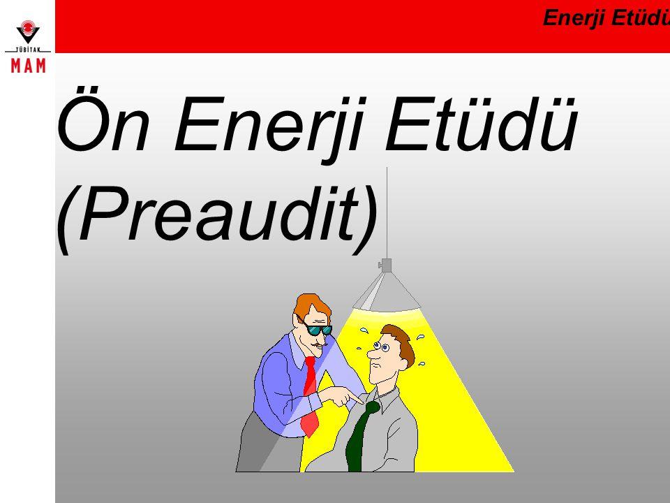 Ön Enerji Etüdü (Preaudit)