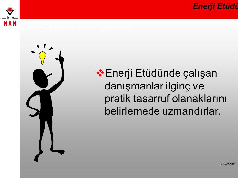 Enerji Etüdlerini kimler yapmalı