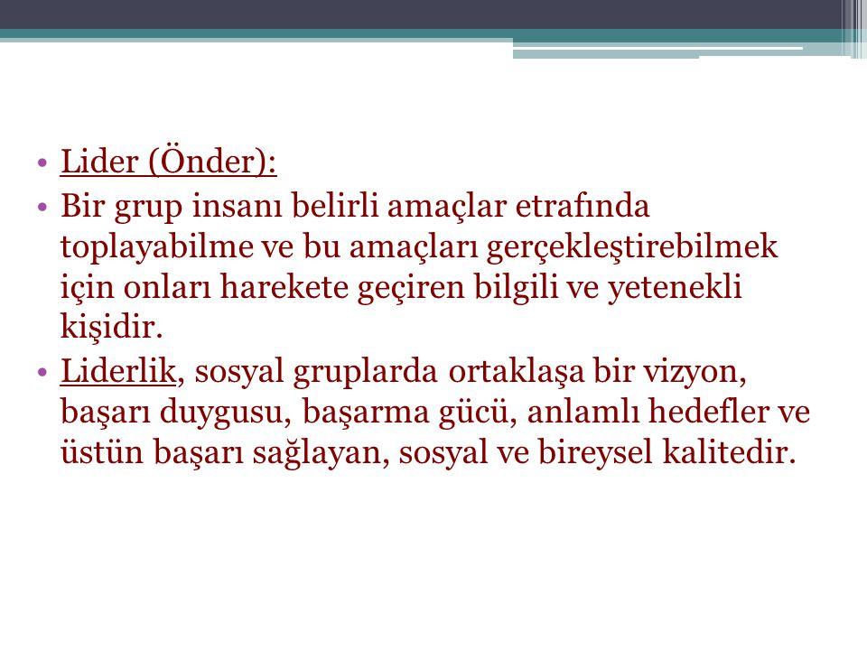 Lider (Önder):