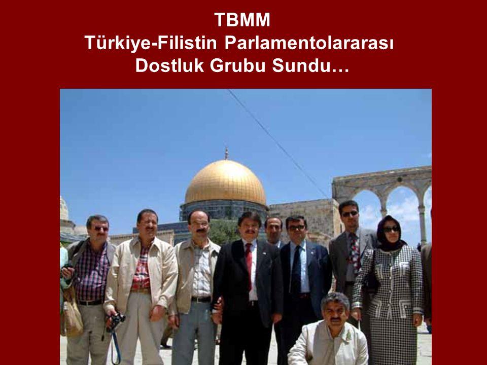Türkiye-Filistin Parlamentolararası