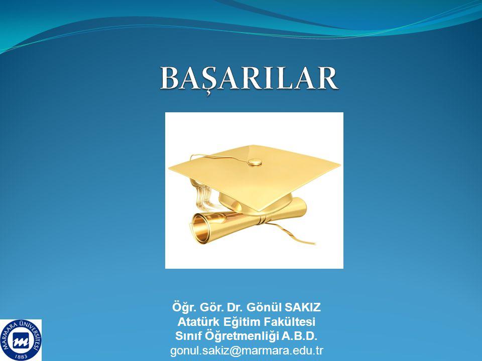 Atatürk Eğitim Fakültesi Sınıf Öğretmenliği A.B.D.