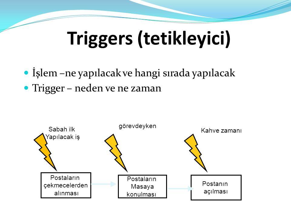 Triggers (tetikleyici)