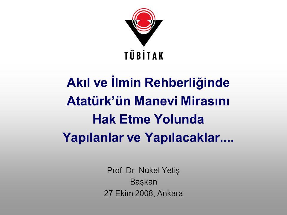 Prof. Dr. Nüket Yetiş Başkan 27 Ekim 2008, Ankara