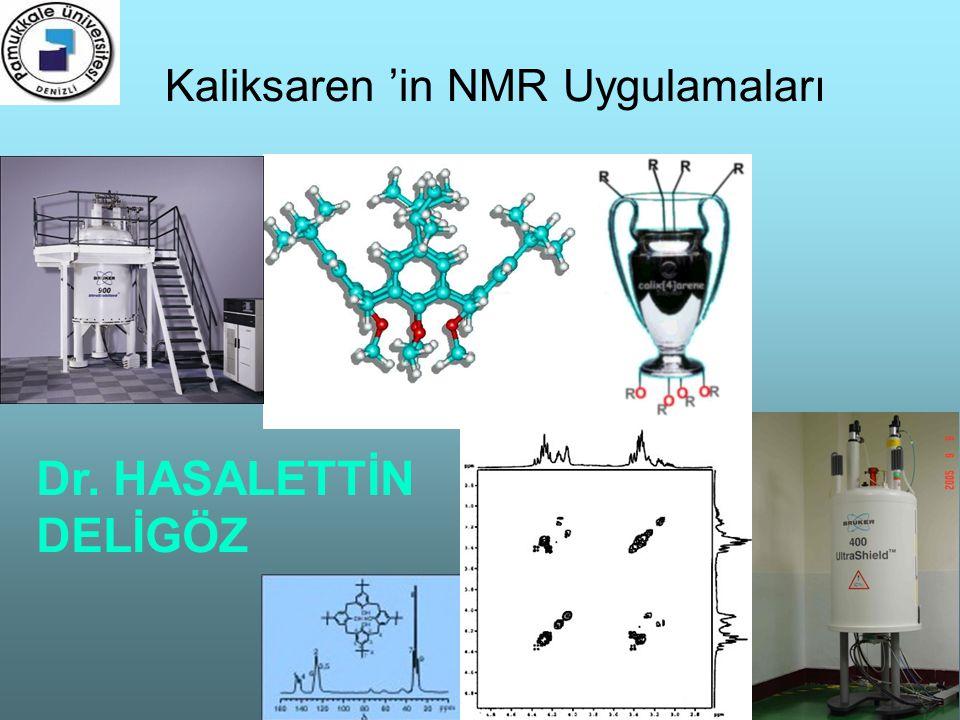 Kaliksaren 'in NMR Uygulamaları