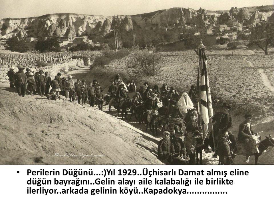 Perilerin Düğünü. :)Yıl 1929