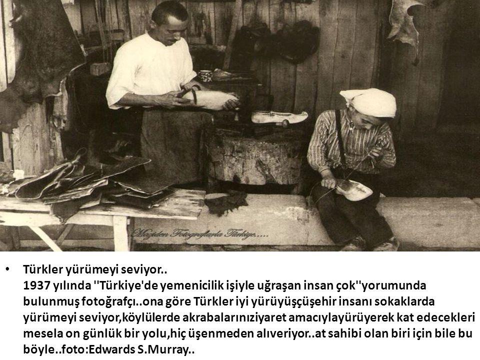 Türkler yürümeyi seviyor