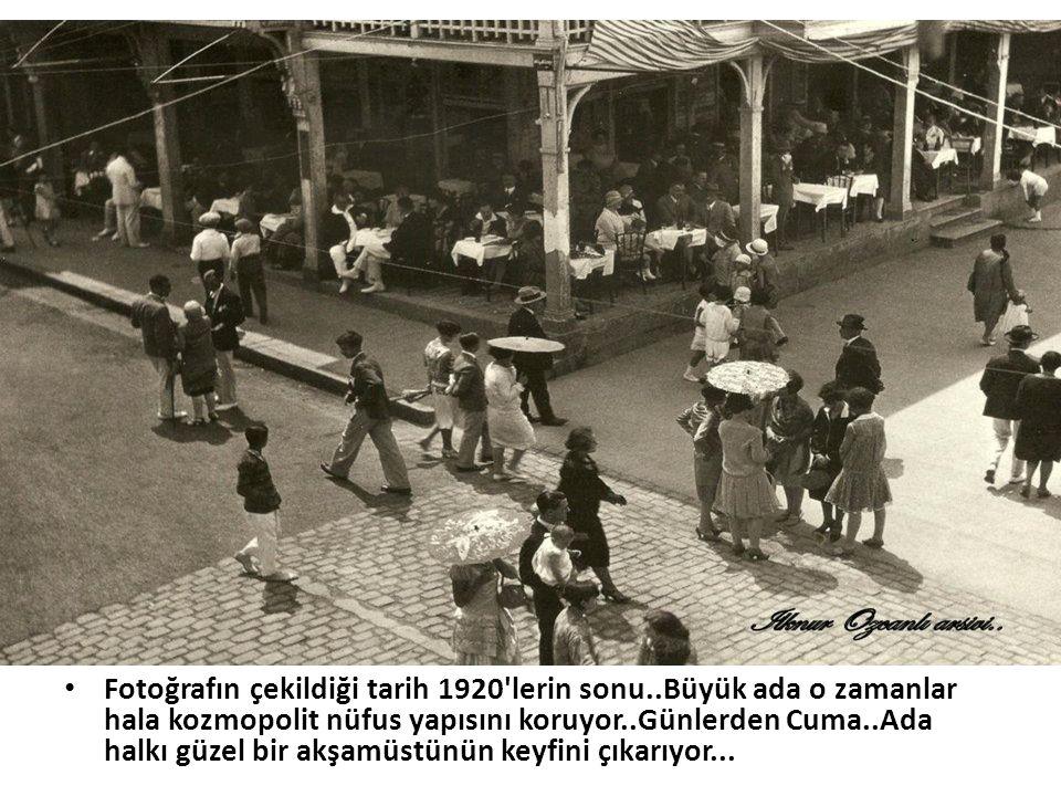 Fotoğrafın çekildiği tarih 1920 lerin sonu