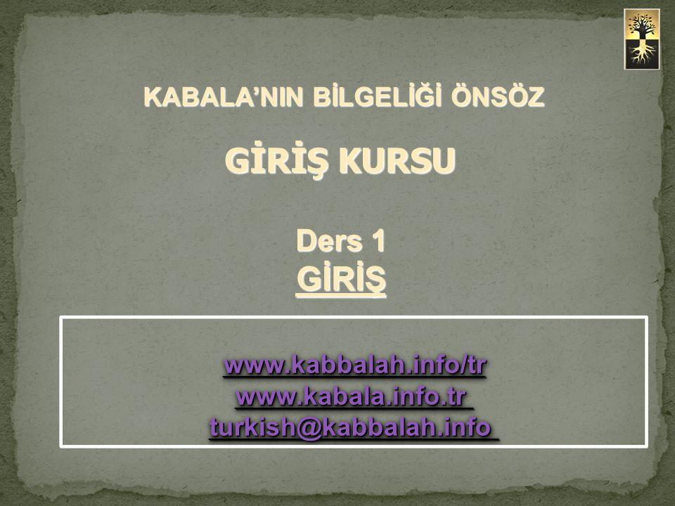 www.kabbalah.info/tr www.kabala.info.tr