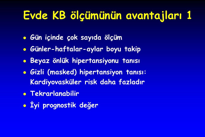 Evde KB ölçümünün avantajları 1