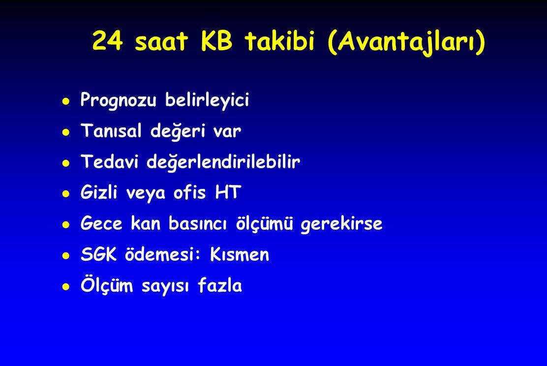 24 saat KB takibi (Avantajları)