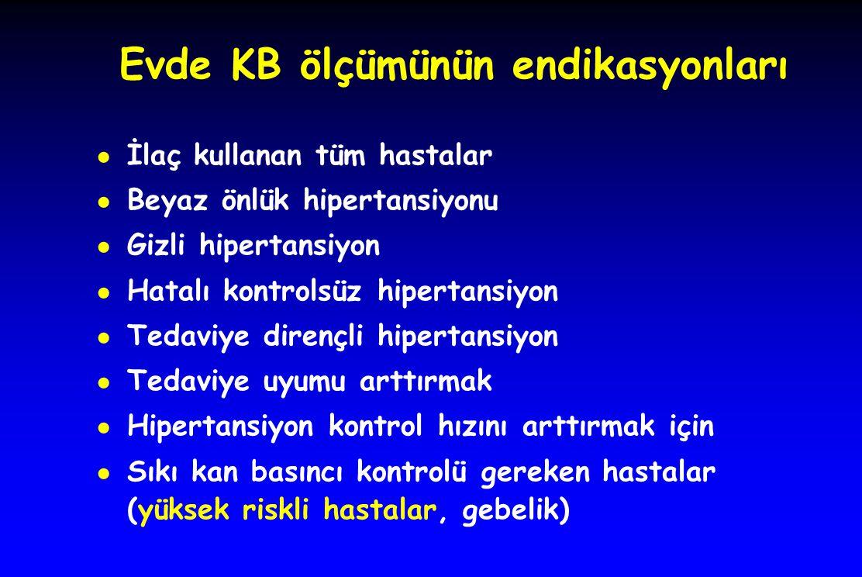 Evde KB ölçümünün endikasyonları