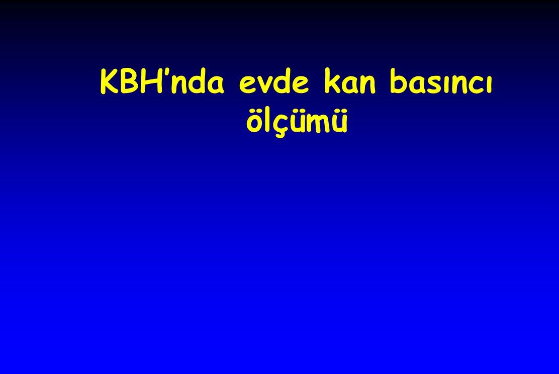 KBH'nda evde kan basıncı ölçümü