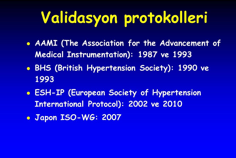 Validasyon protokolleri