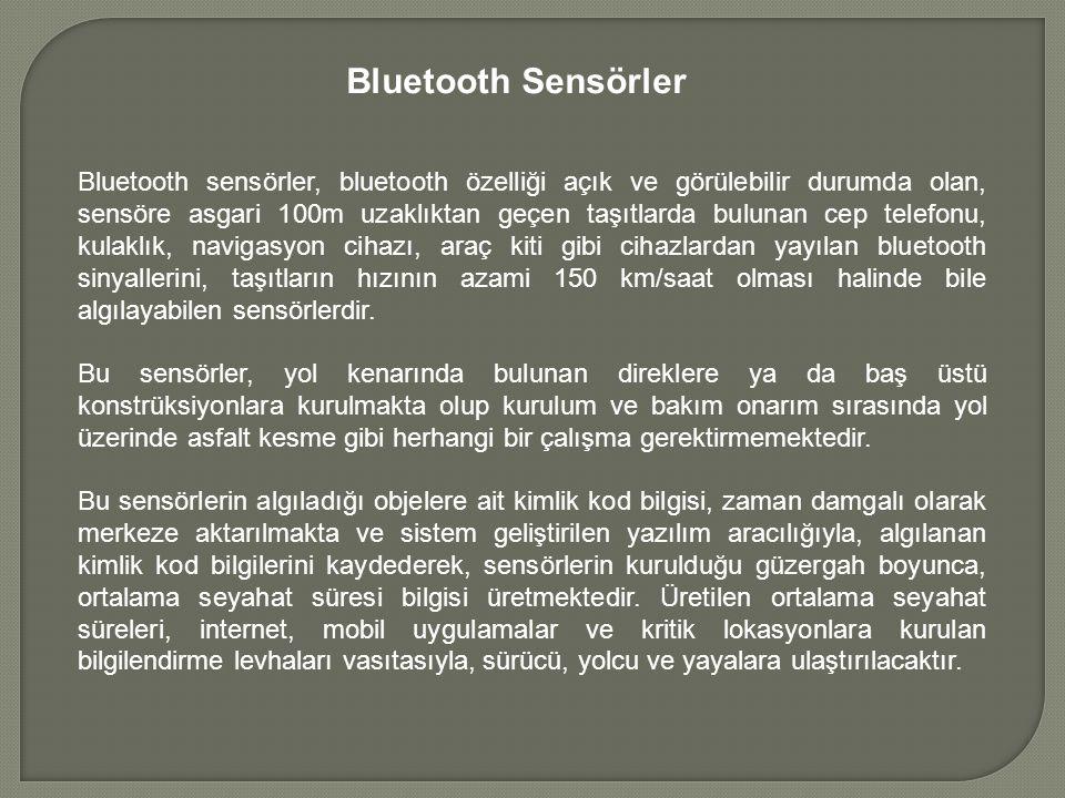 Bluetooth Sensörler