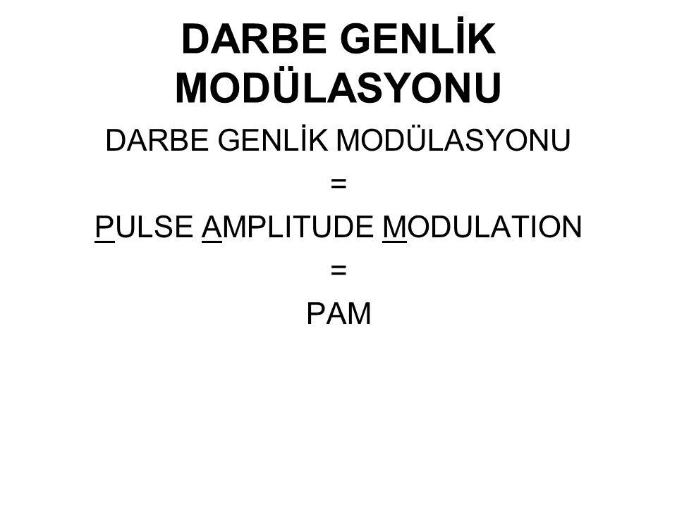 DARBE GENLİK MODÜLASYONU