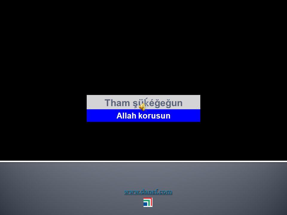 Tham şüḱéğeğun Allah korusun www.danef.com