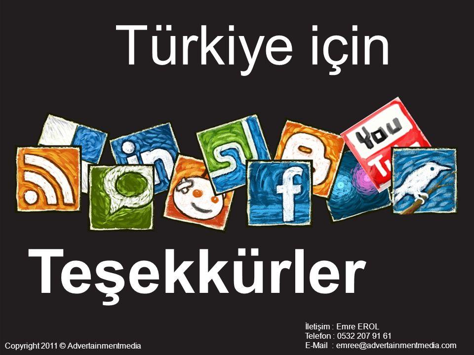 Teşekkürler Türkiye için İletişim : Emre EROL Telefon : 0532 207 91 61