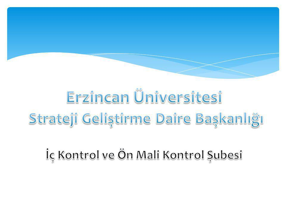 Erzincan Üniversitesi Strateji Geliştirme Daire Başkanlığı