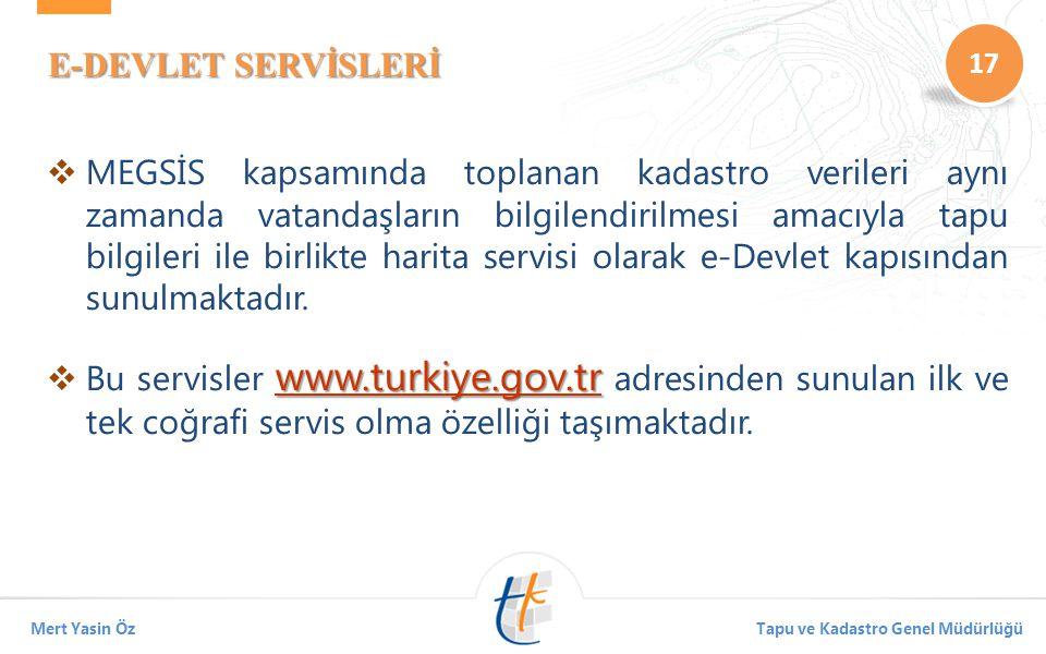 E-DEVLET SERVİSLERİ