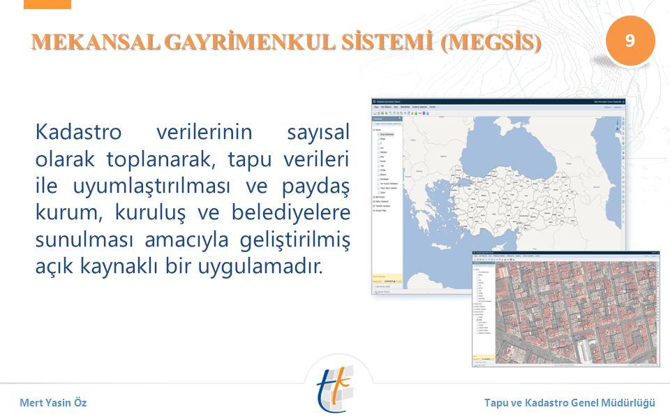 MEKANSAL GAYRİMENKUL SİSTEMİ (MEGSİS)
