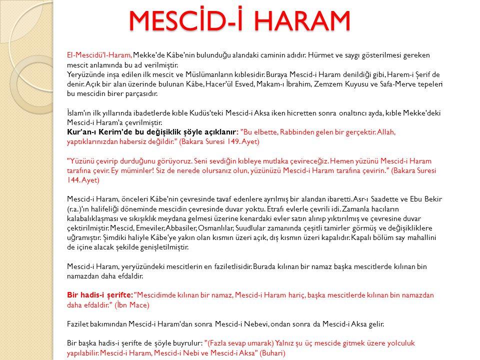 MESCİD-İ HARAM