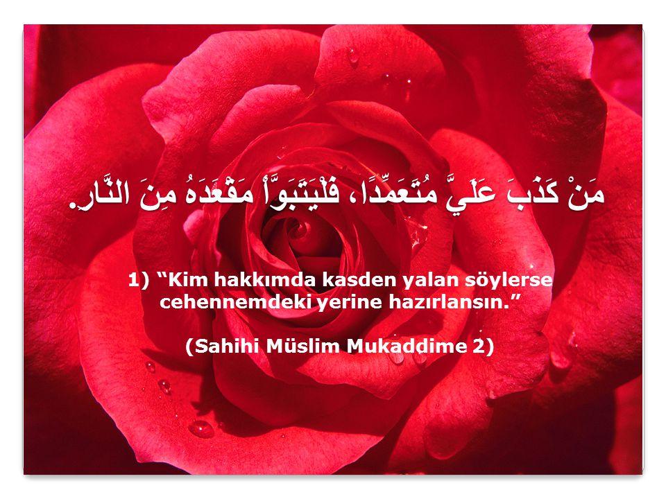 (Sahihi Müslim Mukaddime 2)