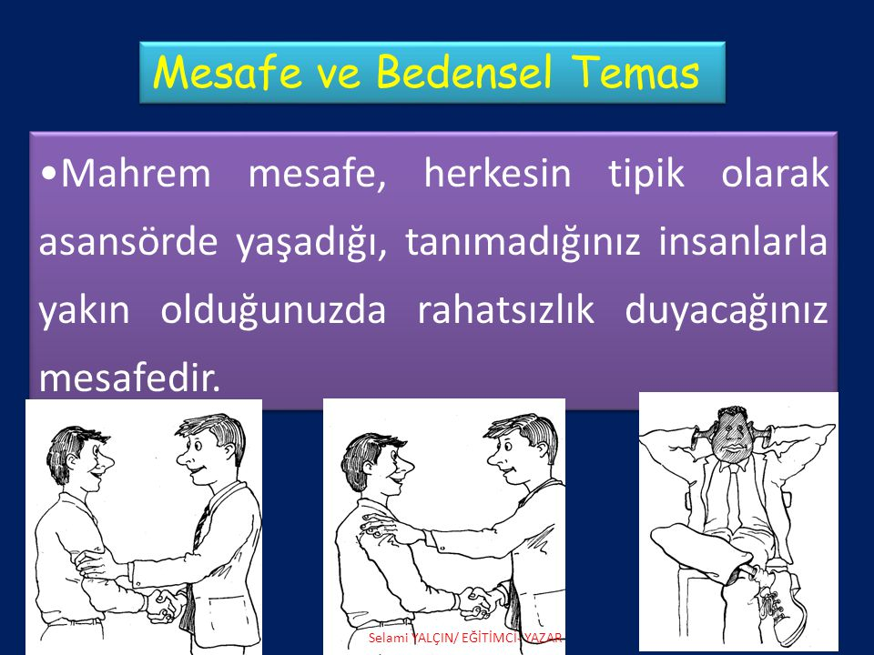 Mesafe ve Bedensel Temas