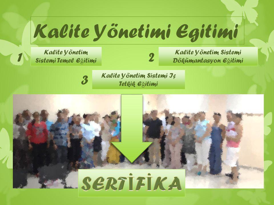 Kalite Yönetimi Egitimi