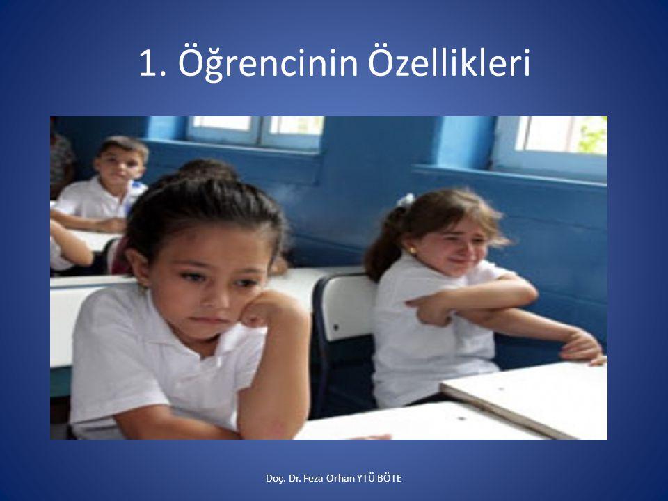 1. Öğrencinin Özellikleri