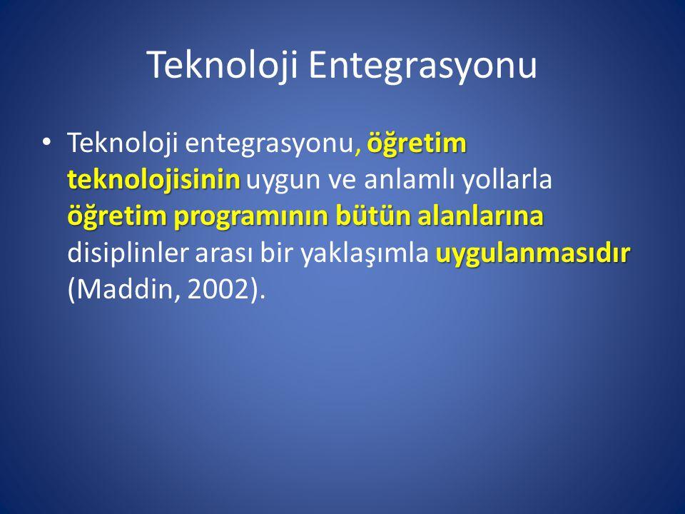 Teknoloji Entegrasyonu
