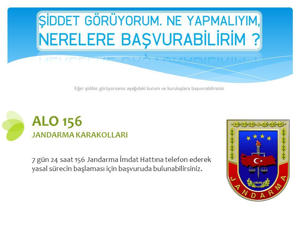 ALO 156 JANDARMA KARAKOLLARI