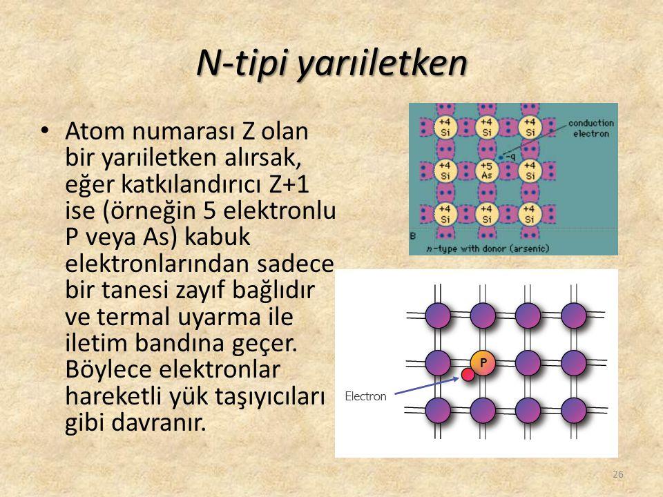 N-tipi yarıiletken