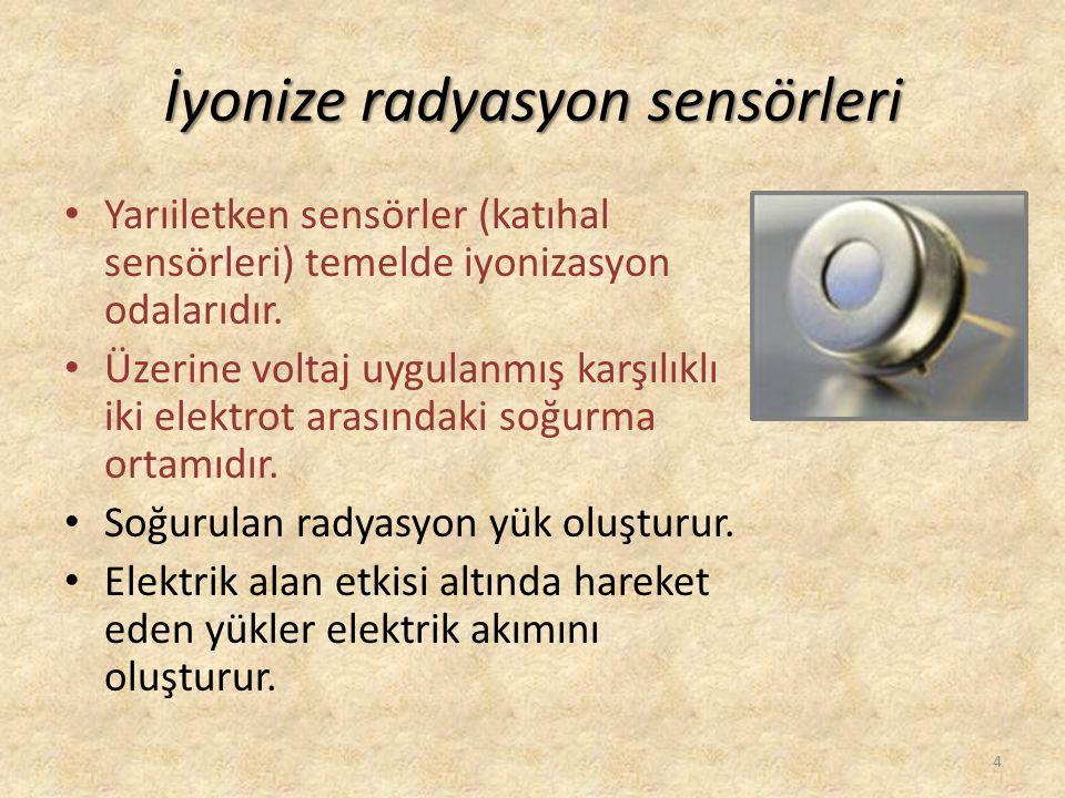 İyonize radyasyon sensörleri