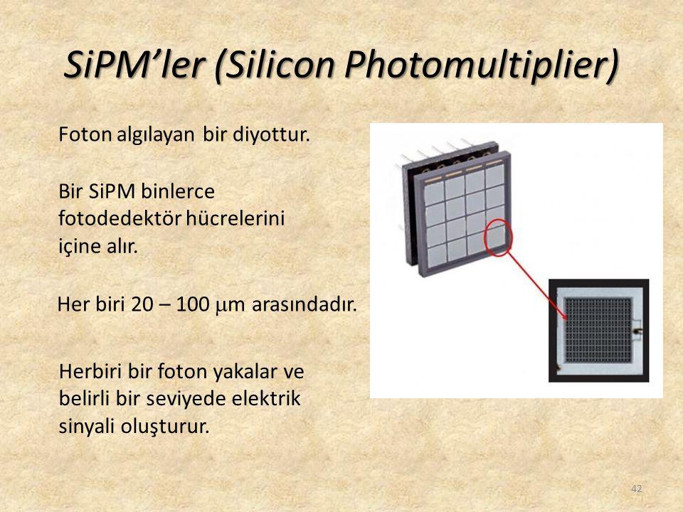 SiPM'ler (Silicon Photomultiplier)