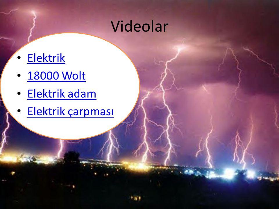 Videolar Elektrik 18000 Wolt Elektrik adam Elektrik çarpması