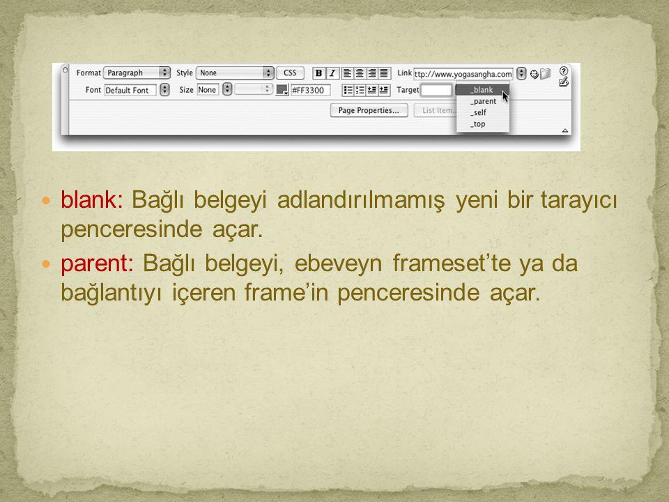 blank: Bağlı belgeyi adlandırılmamış yeni bir tarayıcı penceresinde açar.
