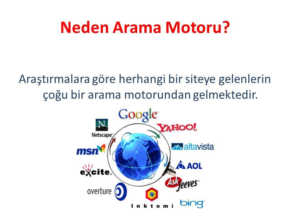 Neden Arama Motoru.