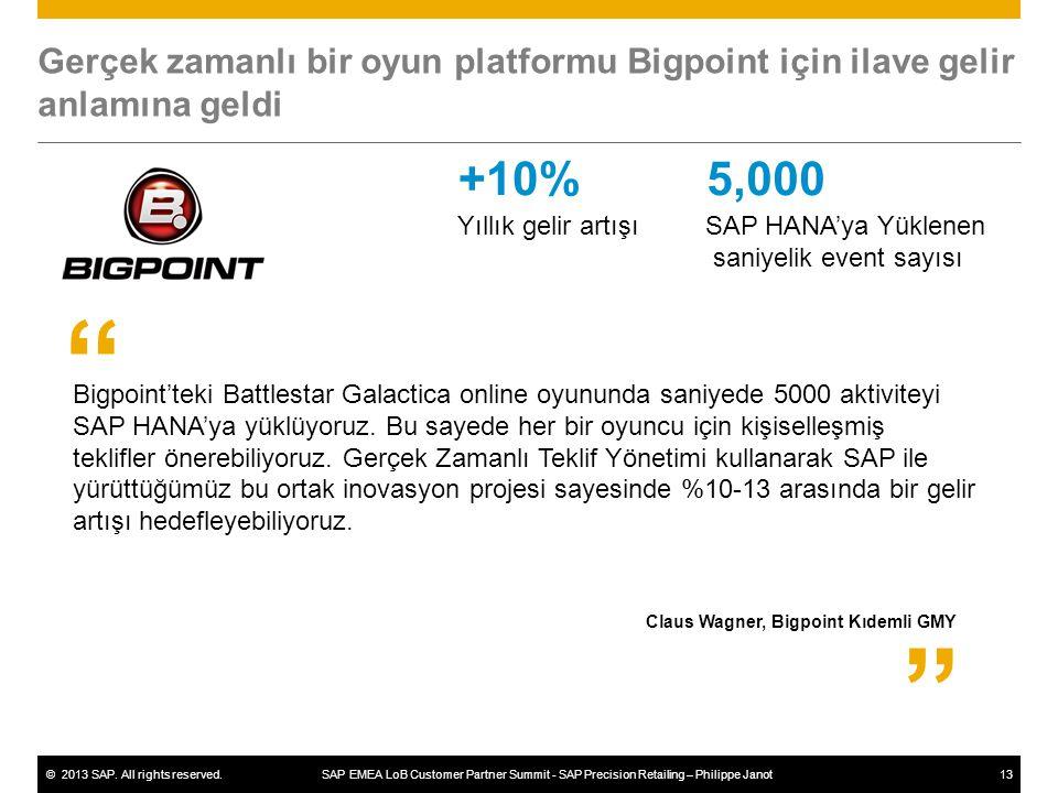 Gerçek zamanlı bir oyun platformu Bigpoint için ilave gelir anlamına geldi