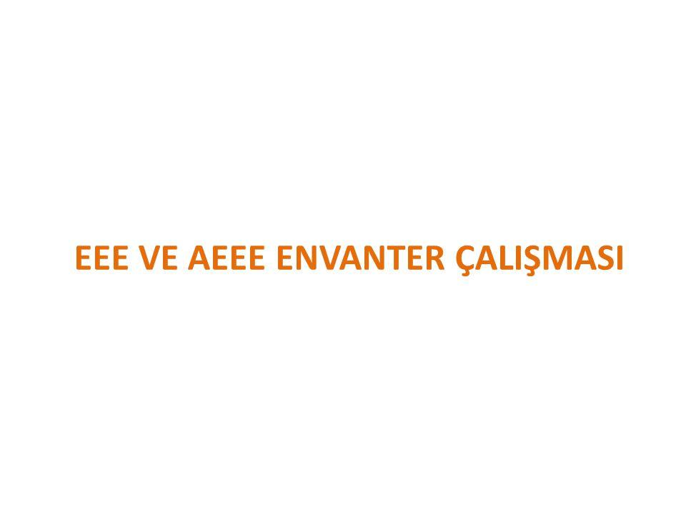 EEE VE AEEE ENVANTER ÇALIŞMASI