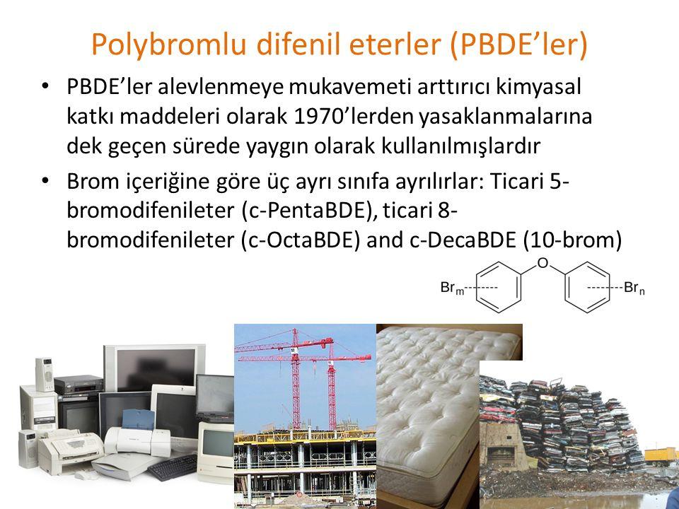 Polybromlu difenil eterler (PBDE'ler)