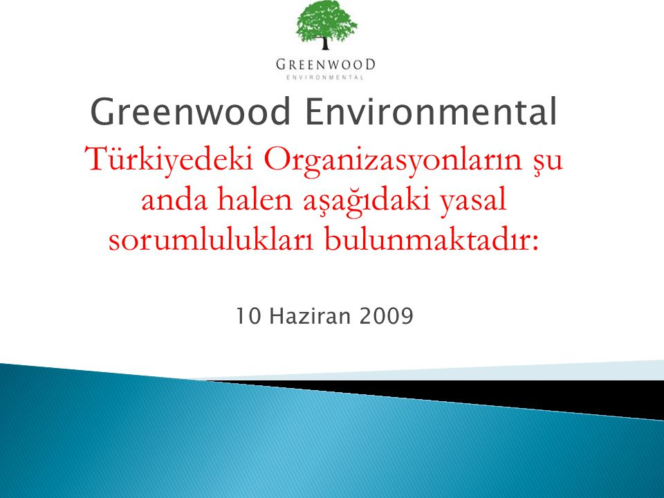 Greenwood Environmental