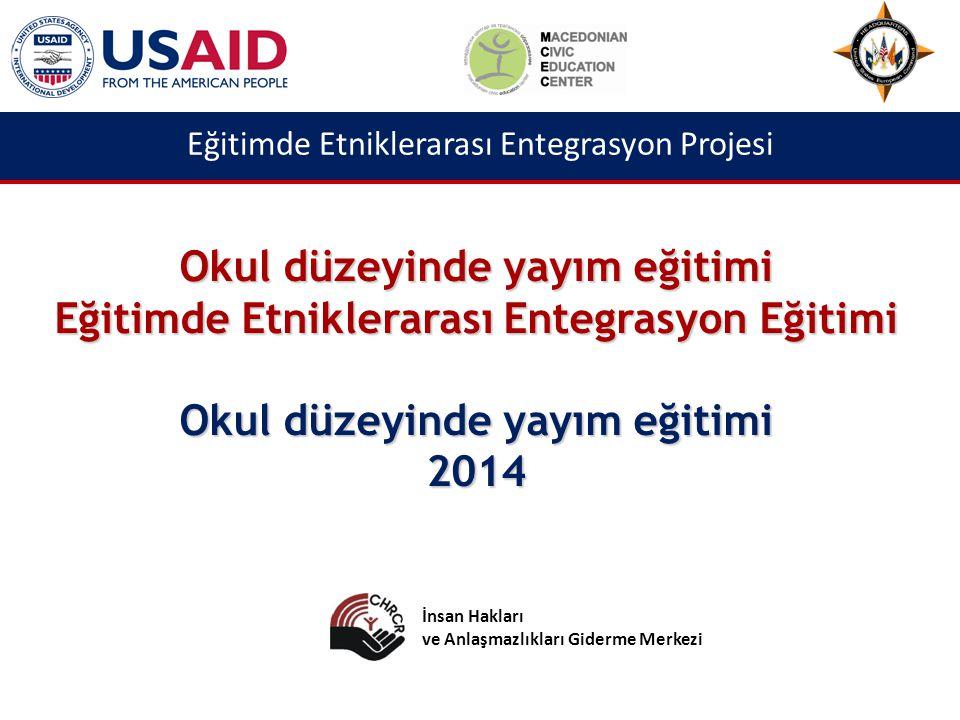 Eğitimde Etniklerarası Entegrasyon Projesi