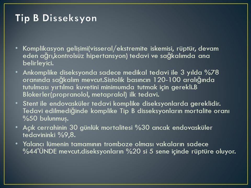Tip B Disseksyon