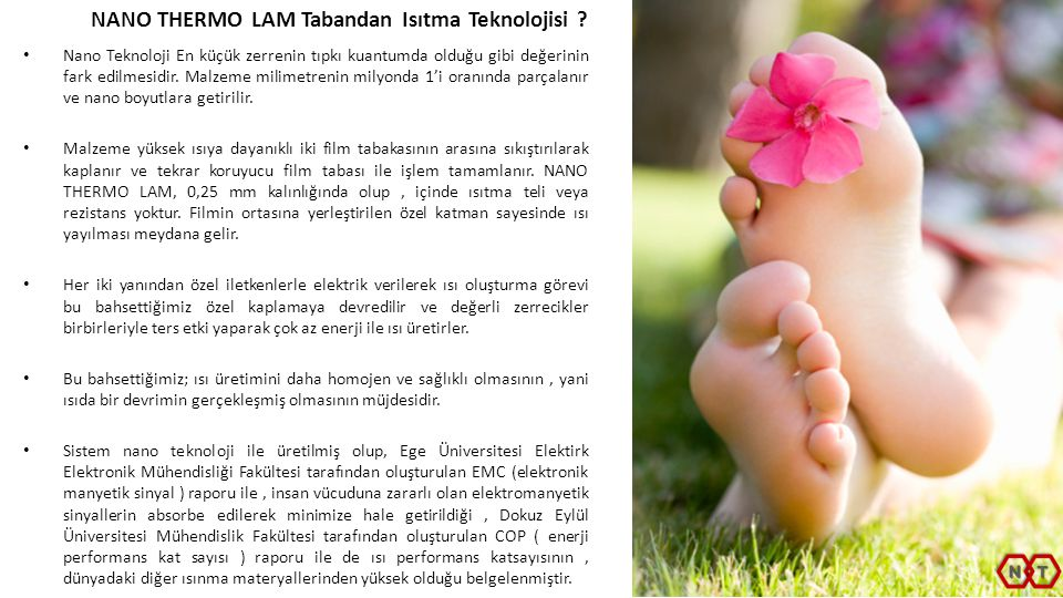 NANO THERMO LAM Tabandan Isıtma Teknolojisi