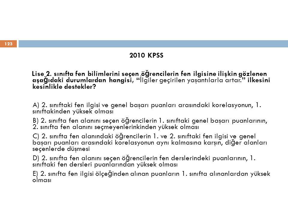 2010 KPSS Lise 2.