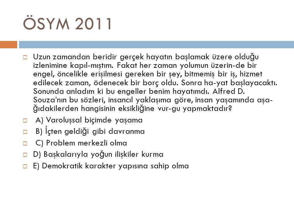ÖSYM 2011