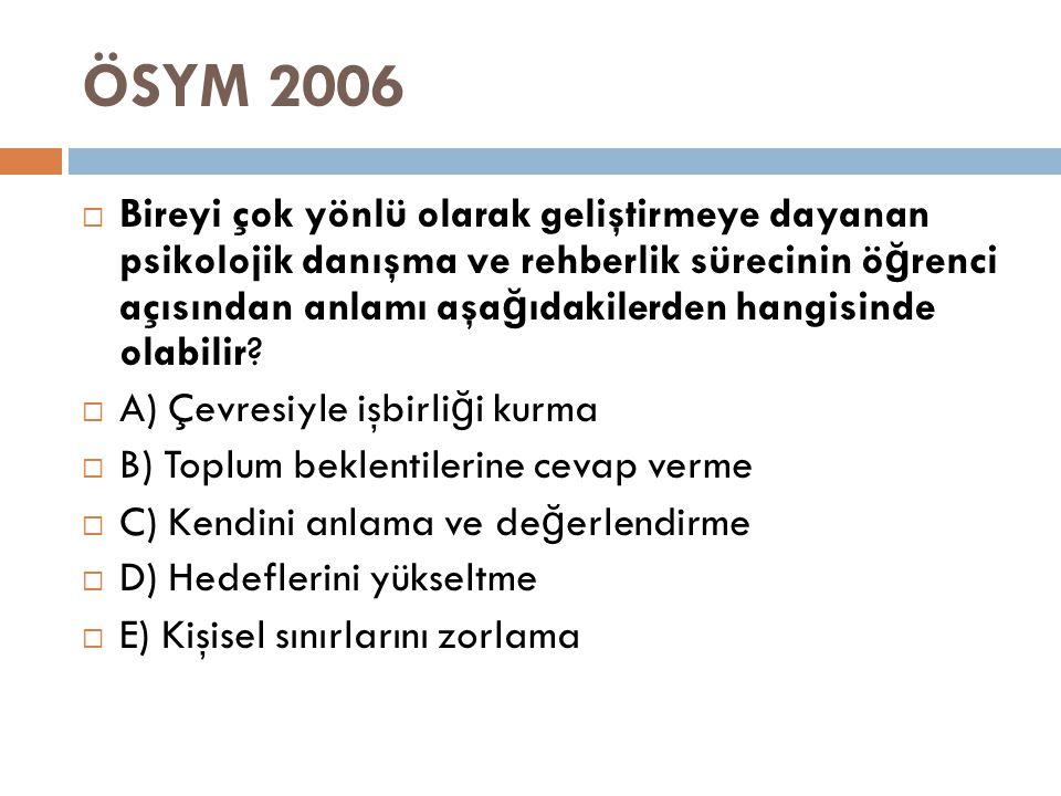 ÖSYM 2006