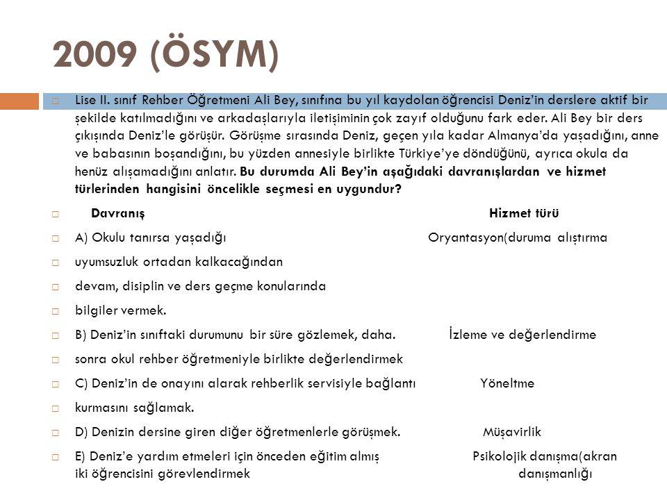2009 (ÖSYM)