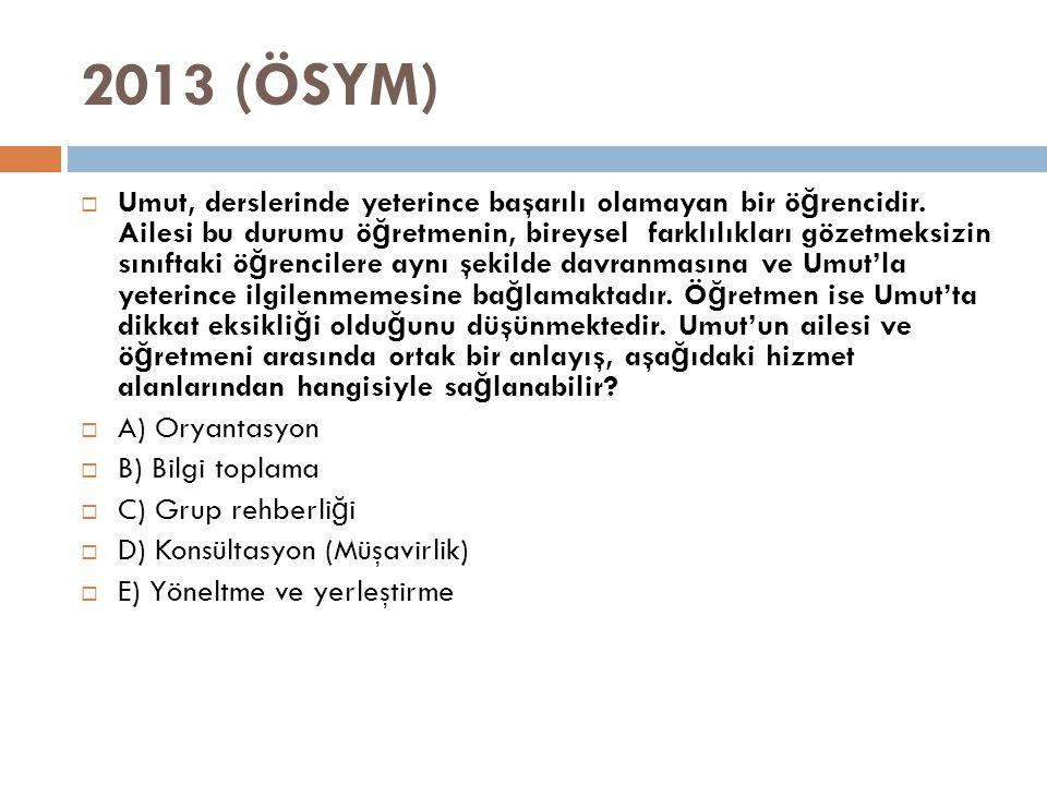 2013 (ÖSYM)