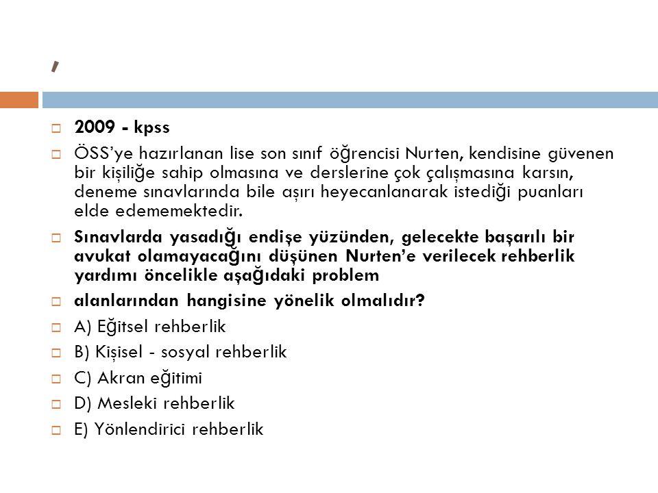 , 2009 - kpss.
